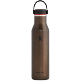Hydro Flask Wide Mouth Trail Lightweight Bottle with Standard Flex Cap 621ml, obsidian